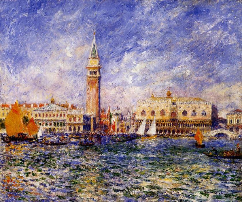 Puzzle D-Toys Venecia, Palacio Ducal de 1000 Piezas