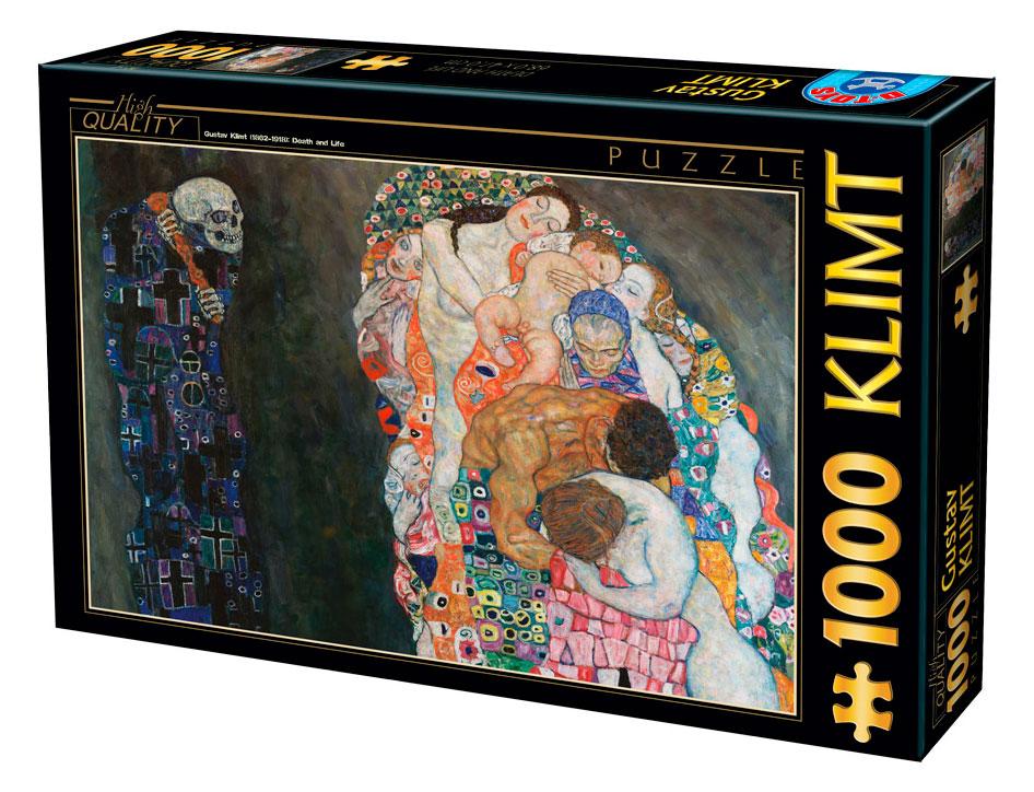 Puzzle D-Toys Vida y Muerte 1000 Piezas