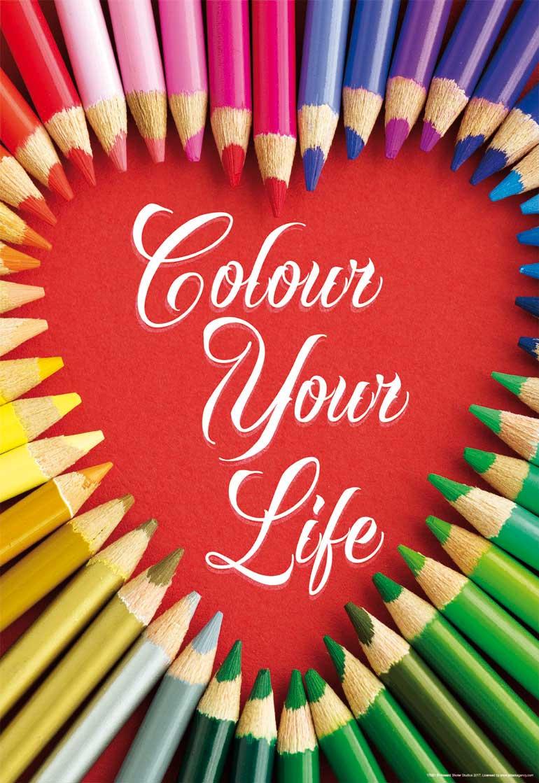 Puzzle Educa Dale Color a tu Vida de 500 Piezas