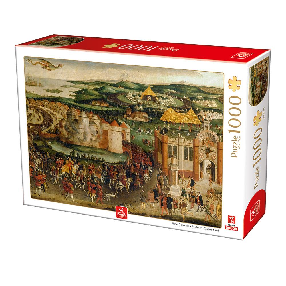 Puzzle Deico Campo del Paño de Oro de 1000 Piezas