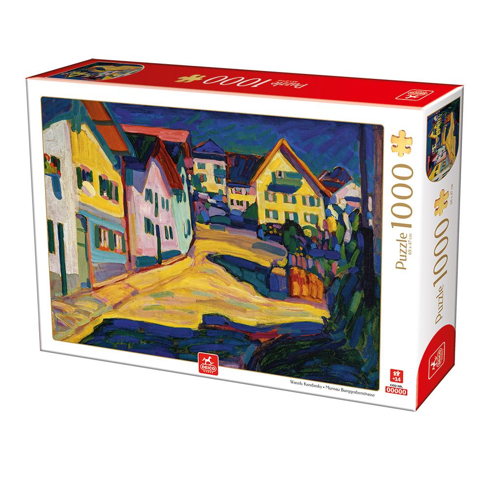 Puzzle Deico Murnau Burggrabenstrasse de 1000 Piezas