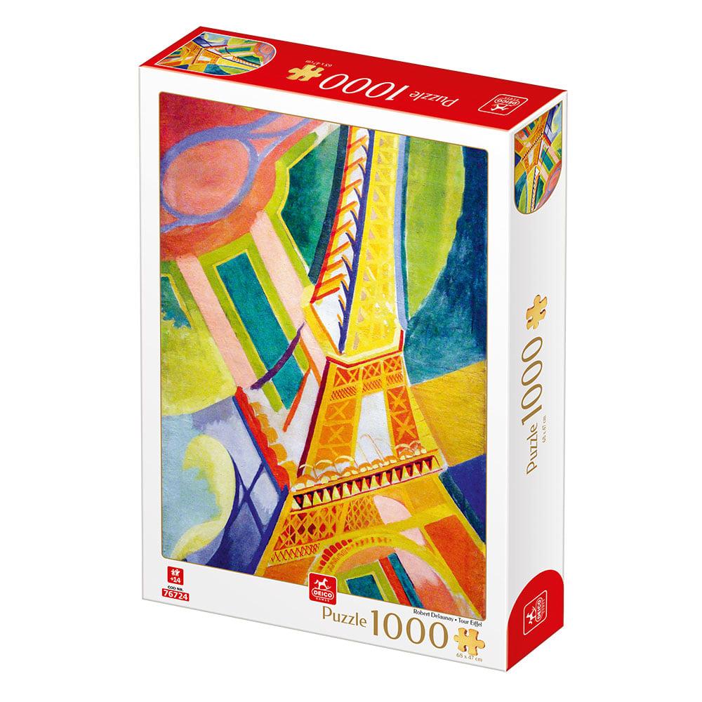 Puzzle Deico Torre Eiffel de 1000 Piezas