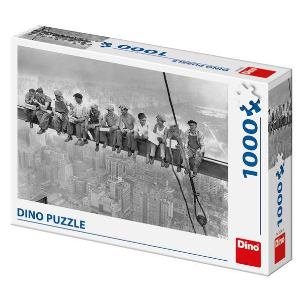 Puzzle Dino Almuerzo de Obreros, Nueva York de 1000 Piezas