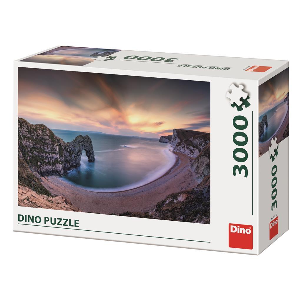 Puzzle Dino Amanecer de 3000 Piezas