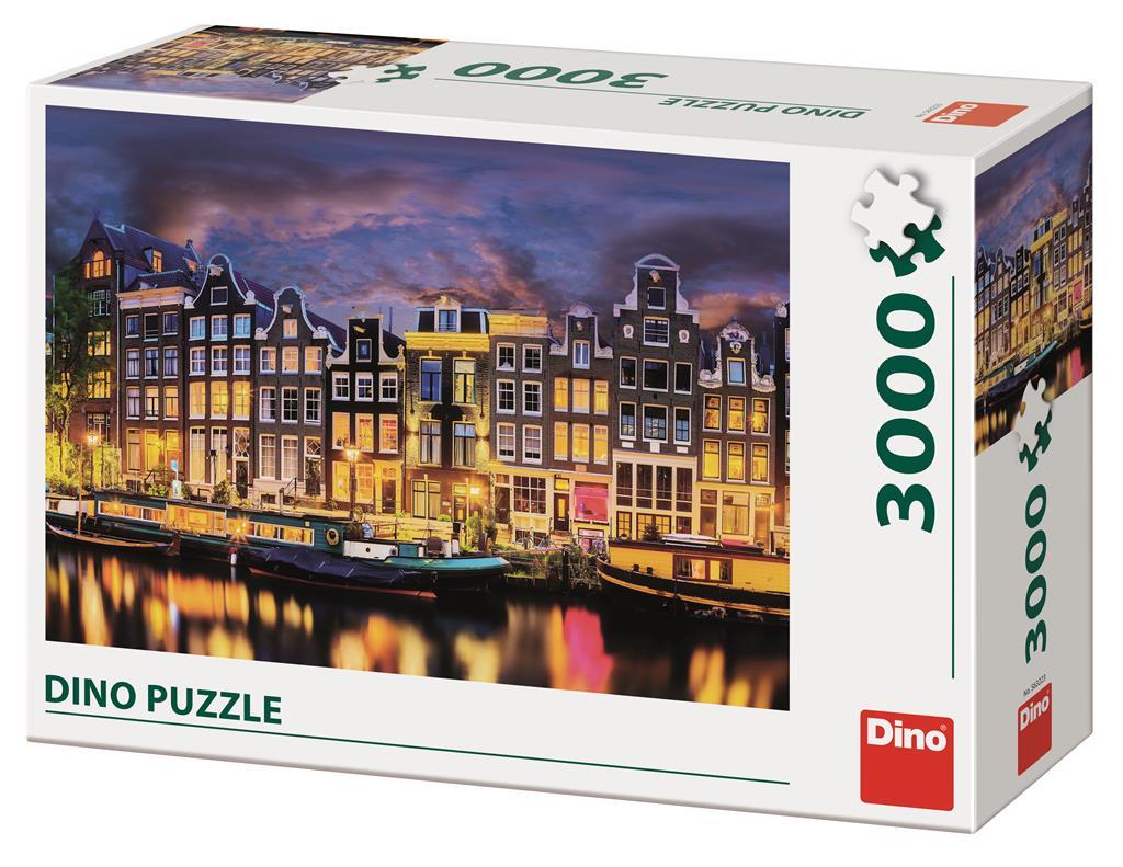 Puzzle Dino Amsterdam de 3000 Piezas