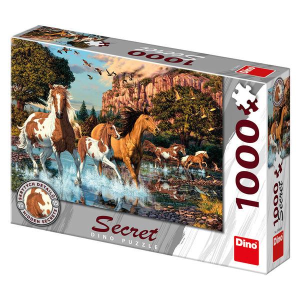 Puzzle Dino Caballos de 1000 Piezas