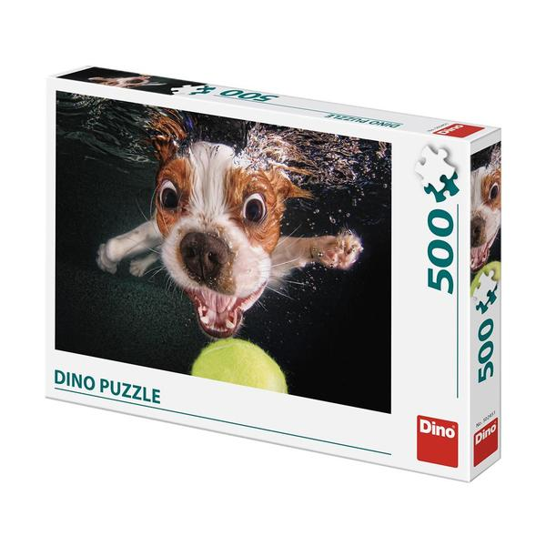 Puzzle Dino Cachorro Bajo el Agua de 500 Piezas