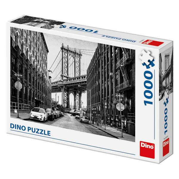 Puzzle Dino Calles de Manhattan de 1000 Piezas