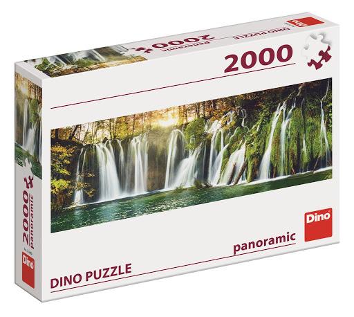Puzzle Dino Cascada Plitvice de 2000 Piezas
