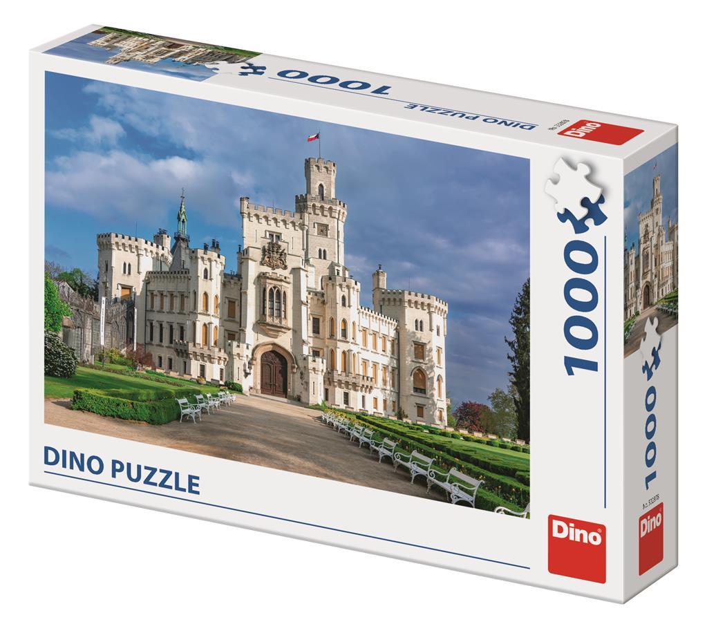 Puzzle Dino Castillo Hluboká de 1000 Piezas