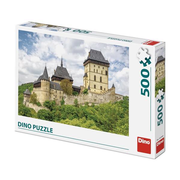 Puzzle Dino Castillo Karlstejn de 500 Piezas