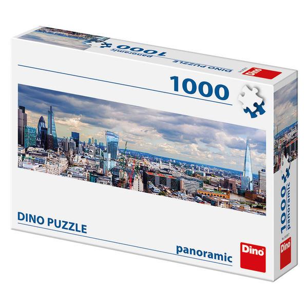 Puzzle Dino Castillo Vista de Londres de 1000 Piezas