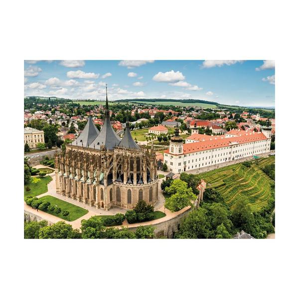 Puzzle Dino Ciudad Kutná Hora de 1000 Piezas