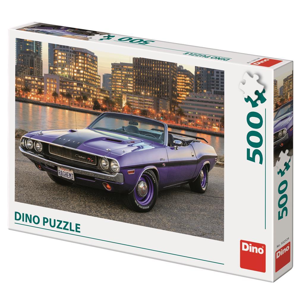 Puzzle Dino Coche Dodge de 500 Piezas