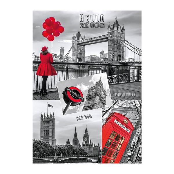 Puzzle Dino Collage de Londres de 1000 Piezas