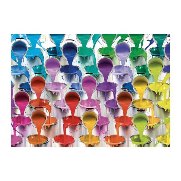 Puzzle Dino Colores de 1000 Piezas