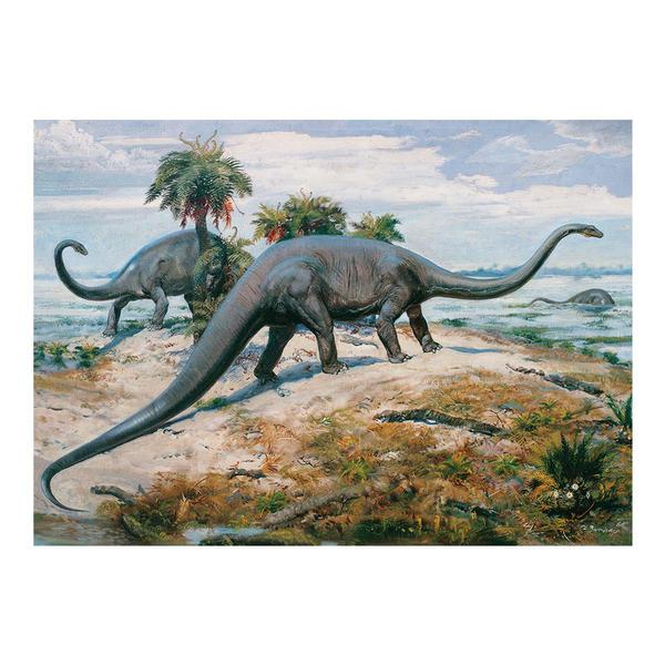 Puzzle Dino Dinosaurios de 1000 Piezas