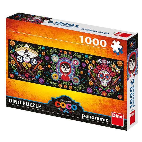Puzzle Dino Disney Coco, Recuérdame de 1000 Piezas