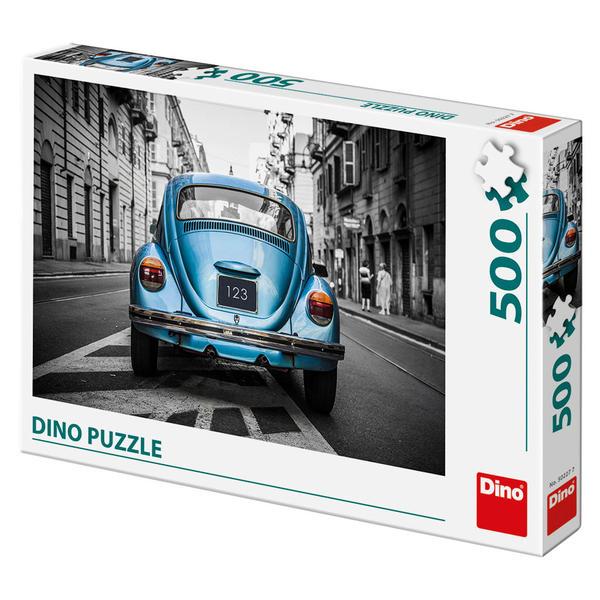 Puzzle Dino Escarabajo Azul, Blue Beetle de 500 Piezas