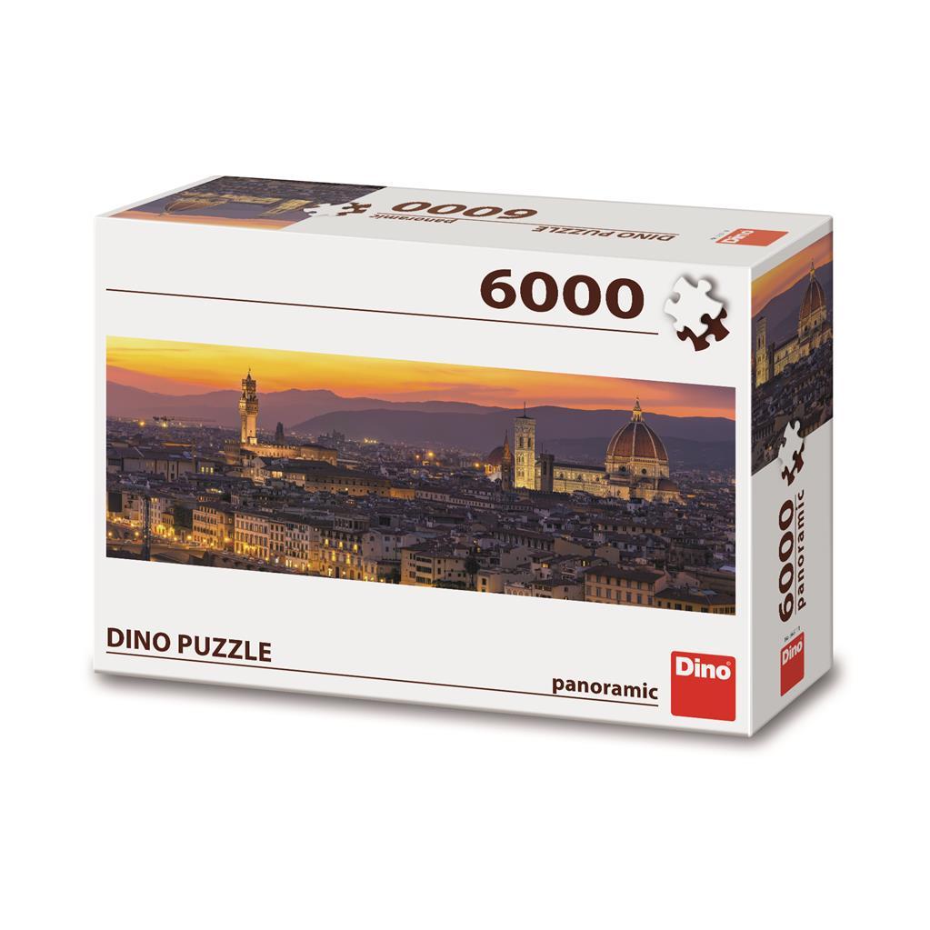 Puzzle Dino Florencia Dorada de 6000 Piezas