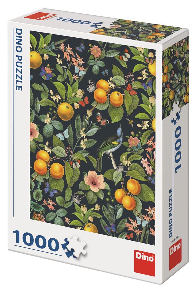 Puzzle Dino Frutos Naranjas de 1000 Piezas
