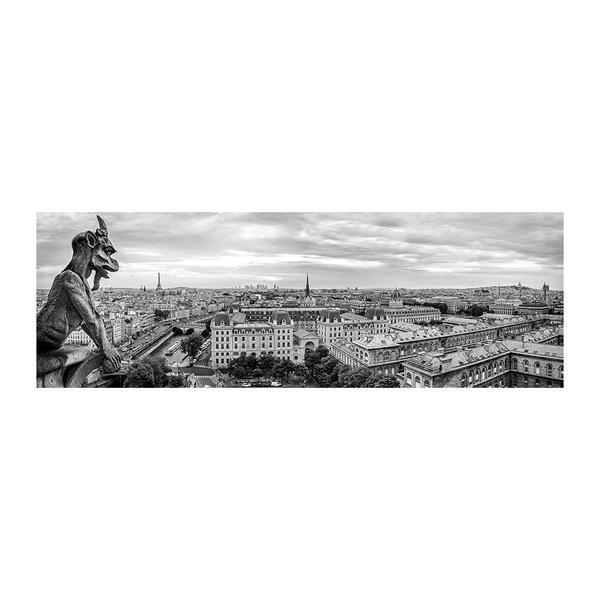 Puzzle Dino Gárgola de Notre Dame, París de 1000 Piezas
