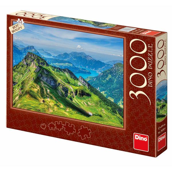 Puzzle Dino Los Alpes, Suiza de 3000 Piezas