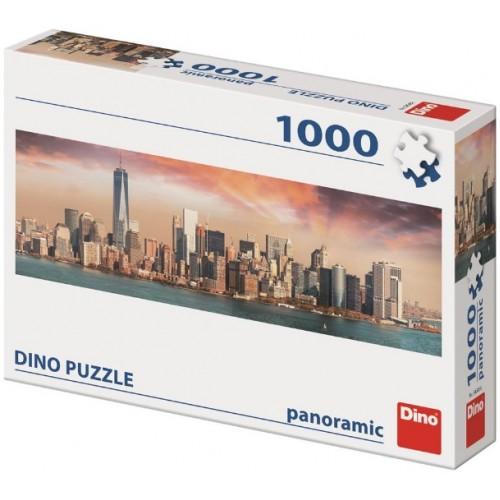 Puzzle Dino Manhattan al Anochecer de 1000 Piezas