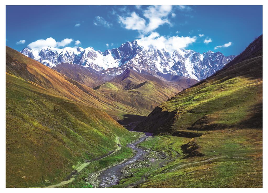 Puzzle Dino Montaña Shkhara de 1000 Piezas