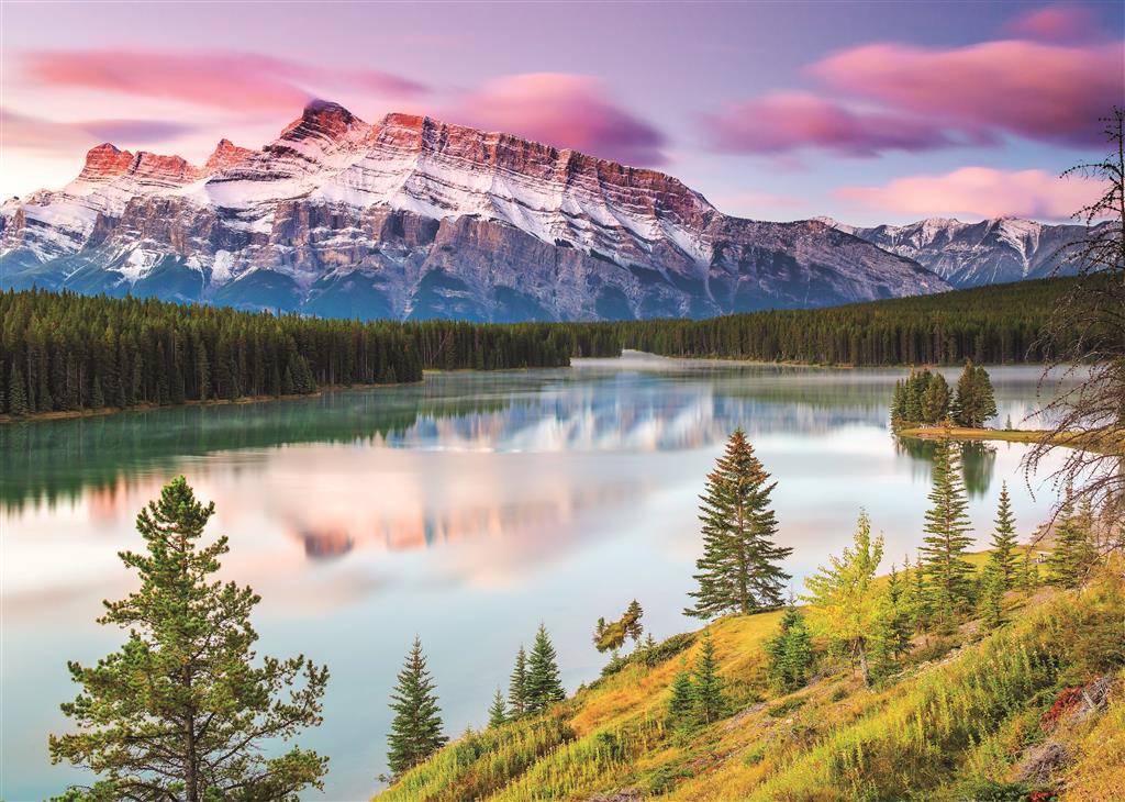 Puzzle Dino Montañas Rocosas de 2000 Piezas