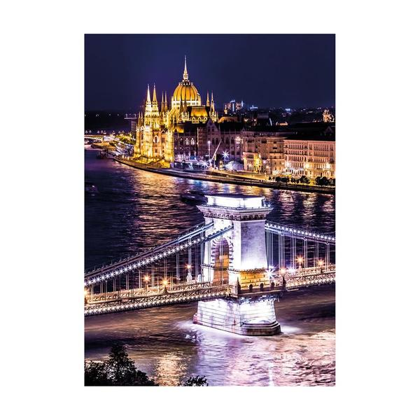 Puzzle Dino Neón Budapest de 1000 Piezas