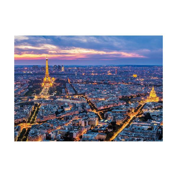 Puzzle Dino Neón París de Noche de 1000 Piezas