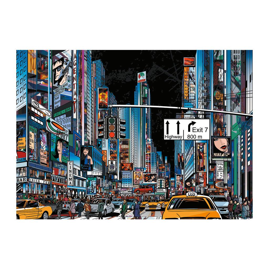 Puzzle Dino Noche en Nueva York de 3000 Piezas