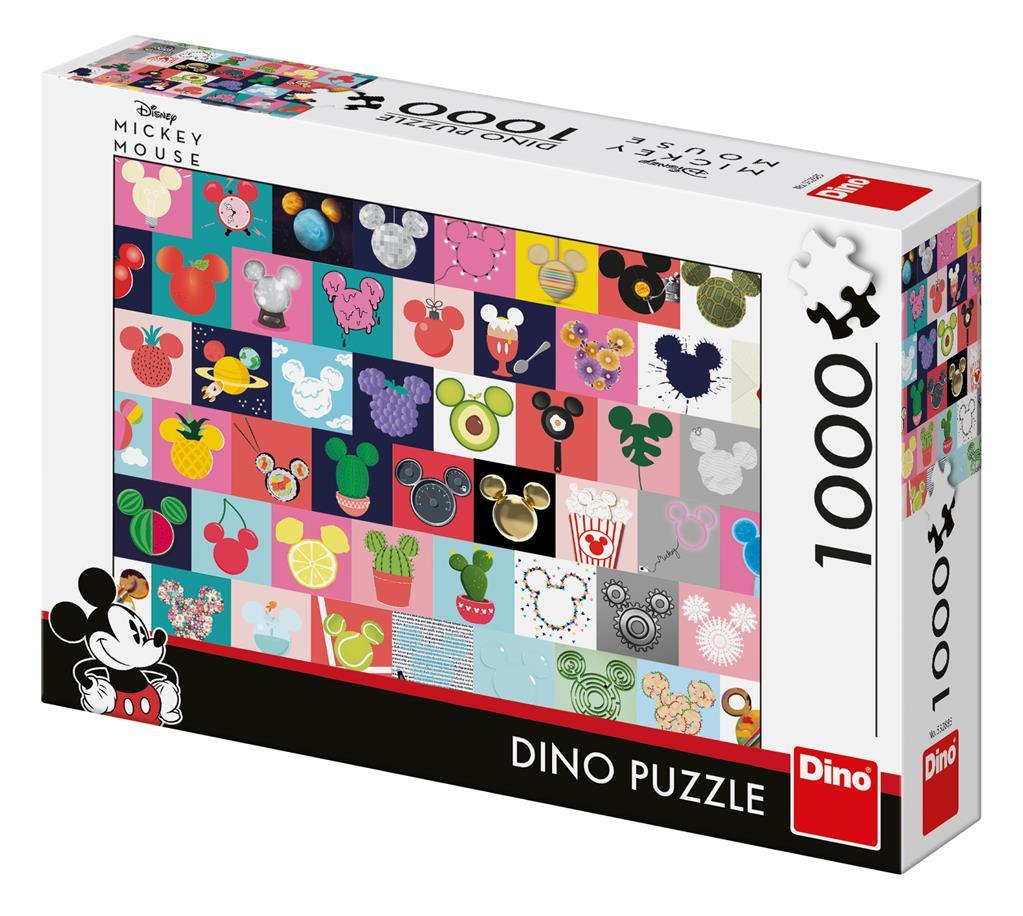 Puzzle Dino Orejas de Mickey de 1000 Piezas