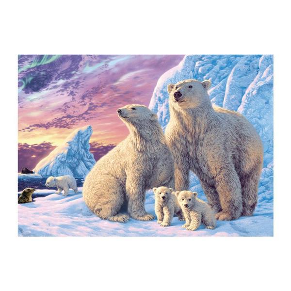Puzzle Dino Osos Polares de 1000 Piezas