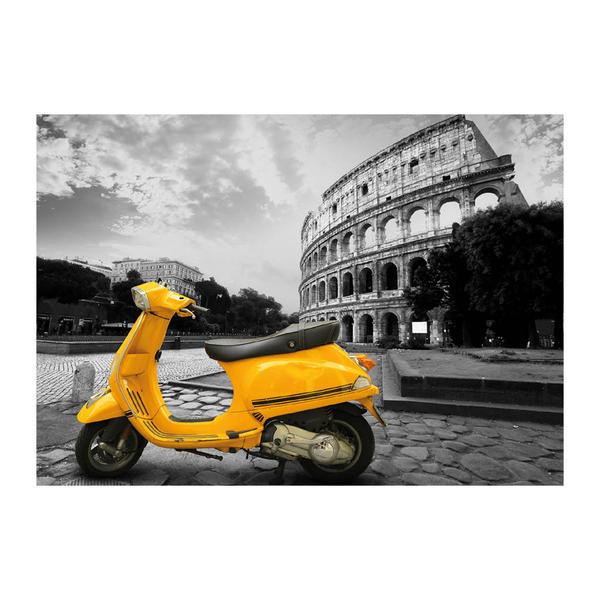 Puzzle Dino Paseo en Vespa por el Coliseo de Roma de 500 Piezas