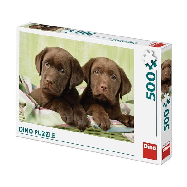 Puzzle Dino Perros Labradores de 500 Piezas