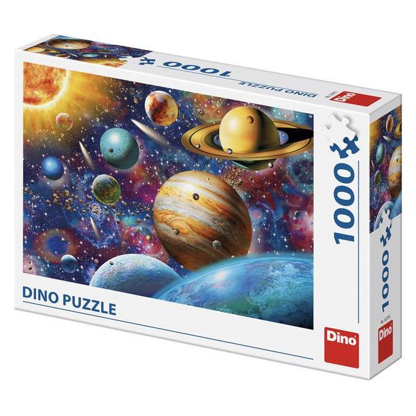 Puzzle Dino Planetas de 1000 Piezas