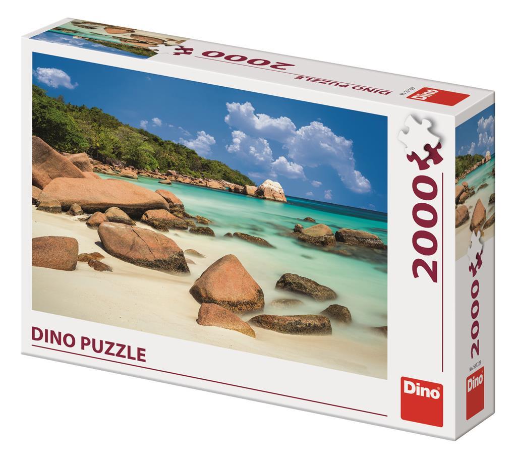 Puzzle Dino Playa de Ensueño de 2000 Piezas