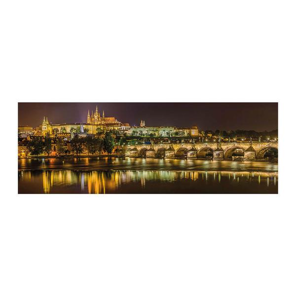 Puzzle Dino Puente de Carlos de Noche, Praga de 2000 Piezas