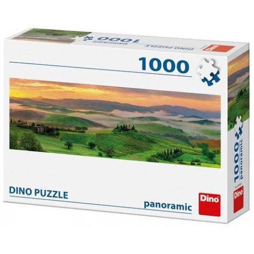 Puzzle Dino Puesta de Sol de 1000 Piezas