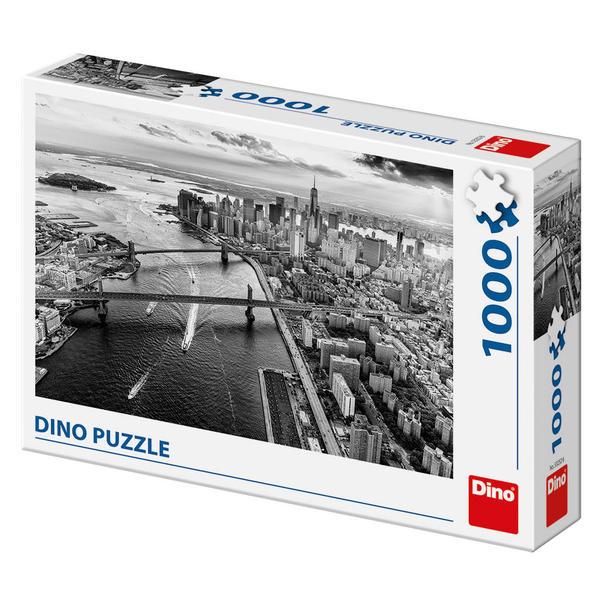 Puzzle Dino Rascacielos de Manhathan de 1000 Piezas