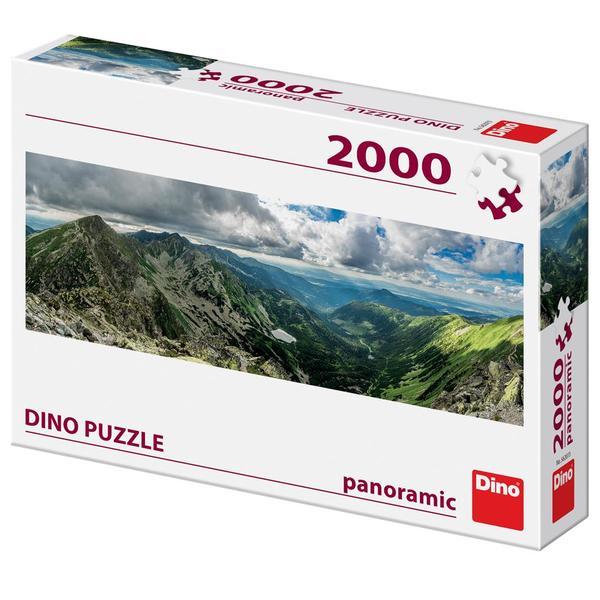 Puzzle Dino Rohace, Eslovaquia de 2000 Piezas