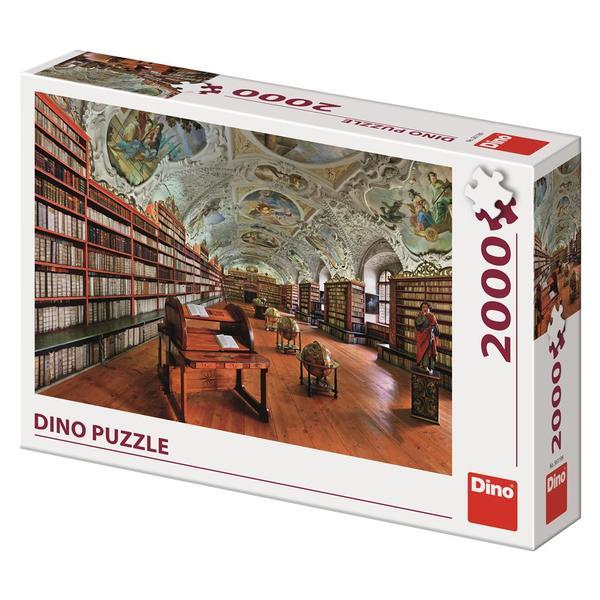 Puzzle Dino Salón Teológico del Monasterio de Strahov de 2000 Pz