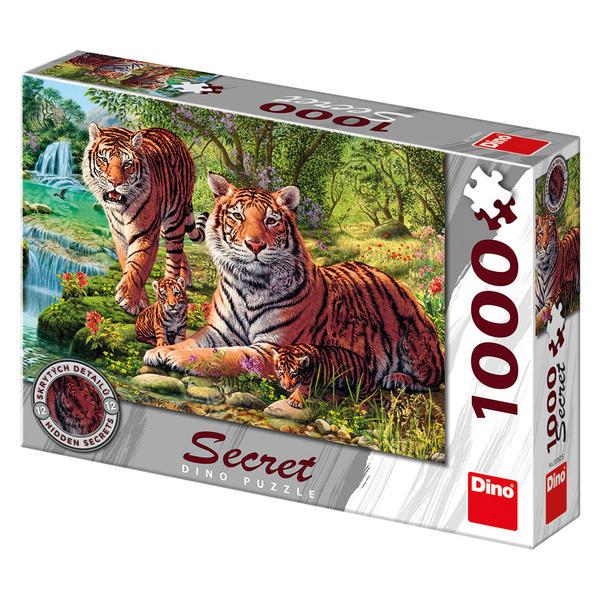Puzzle Dino Tigres de Bengala de 1000 Piezas