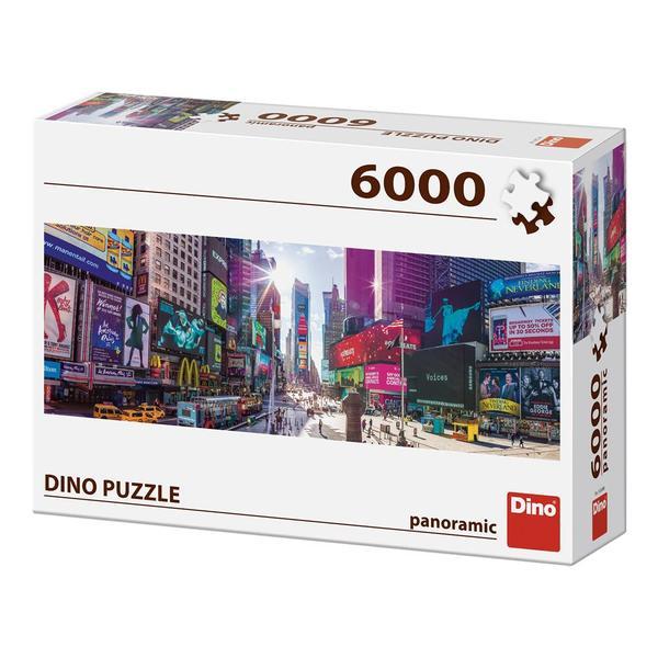 Puzzle Dino Times Square, Nueva York de 6000 Piezas