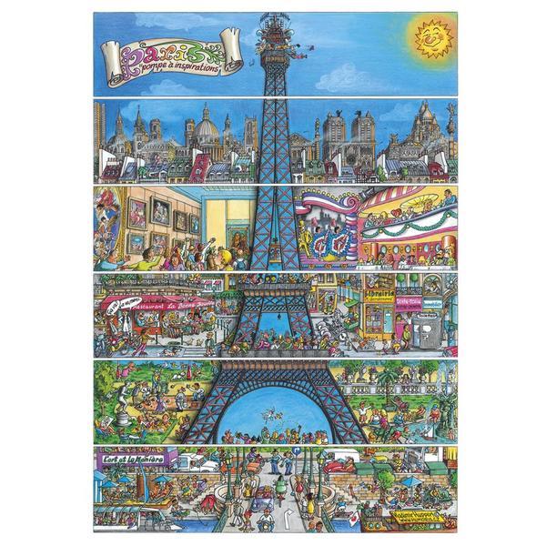 Puzzle Dino Torre Eiffel de 500 Piezas