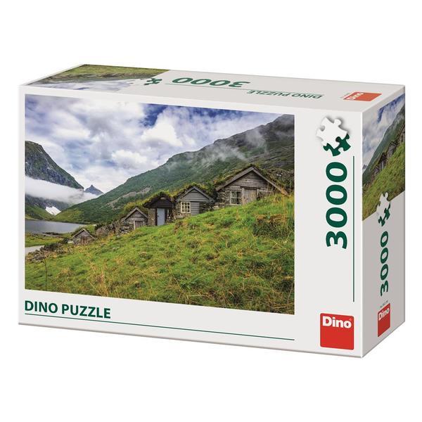 Puzzle Dino Valle de Norangsdalen de 3000 Piezas