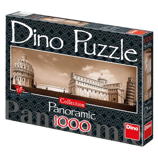 Puzzle Dino Vista de Pisa de 1000 Piezas