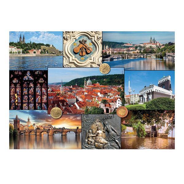 Puzzle Dino Vistas de Praga de 2000 Piezas
